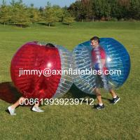 Wholesale adult outdoor inflatable ball games,popular inflatable bumper ball,bubble soccer for sale from china suppliers