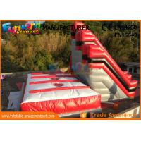 Wholesale 10.6m High Stunt Big Air Bag Jump , Inflatable Freefall Stunt Jump With Jump Cushion from china suppliers