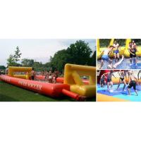 Wholesale School Inflatable Soccer Field / Soap Football Field For Teenager Play from china suppliers