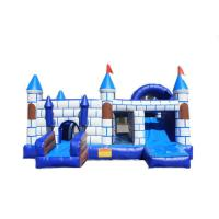 China New Commercial PVC Tarpaulin Mini Bouncy Castle Inflatable jumping castles With bouncer slide for sale on sale