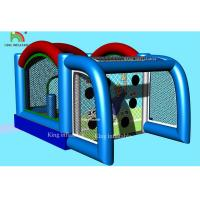 China Sport Games Inflatable Football Gate Multifunctional Kids Combination Toy Bouncer Jumping Castle on sale