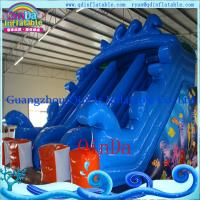 Quality Giant Inflatable Water Slide Toy for Inflatable Swimming Pool Slide for sale