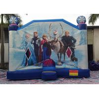 Wholesale Large Frozen Princess Happy Hop Inflatable Bounce House Inside Slide from china suppliers