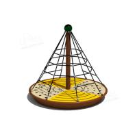 Wholesale CE Standard Commercial Outdoor Play Equipment Children Turntable Net Climbing from china suppliers