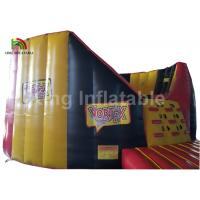 Wholesale IPS System Red Round Inflatable Sports Games , Interactive Light Battle Arena For Kids from china suppliers