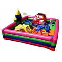 Wholesale 20 Kids Capacity Inflatable Bounce House Combo With Rescue Worker Theme from china suppliers
