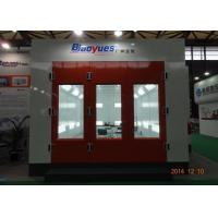 Quality 7m Paint Chamber Garage Spray Booth Heat Recuperation Rock Wool Panel Siemens Motor for sale