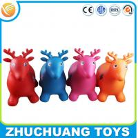 Wholesale Environmental bulk plastic inflatable cartoon animal deer toys from china suppliers