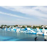 Wholesale Durable PVC Tarpaulin Floating Inflatable Water Park Commercial For Resort from china suppliers