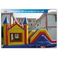 China 0.55mm PVC Inflatable Bouncy Castle , Jumping Castle Water Slide Toys on sale