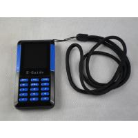 Wholesale 006A Small Size Museum Audio Tour Systems , Blue / Black Audio Guide Device from china suppliers