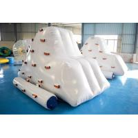 China Inflatable Iceberg Climber / Inflatable Iceberg Water Toy For Kids on sale