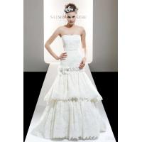 Wholesale white Lace medium Wedding Dress from china suppliers