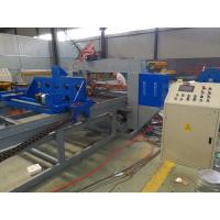 China Automatic Steel Bar Mesh Welding Machine , Steel Grating Machine For Width 1200mm on sale