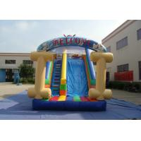 China Kids Bouncy Castle With Slide 8 X 4 X 4.5m , Customized Bouncy Castle Water Slide on sale