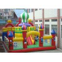 Wholesale 0.55mm PVC Tarpaulin Inflatable Bouncy Castle House, Inflatable Fun Park from china suppliers