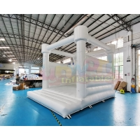 Wholesale Public 18OZ PVC Inflatable Bounce Houses Quadruple Stitching from china suppliers