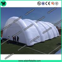 Wholesale Giant Event White Inflatable Arch Tent / Inflatable Tunnel Tent With Oxford Cloth Material from china suppliers