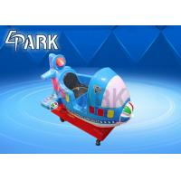 Wholesale Blue Kiddie Ride Machine Glider Foam Airplane Manual Throwing Fun Challenging Outdoor Sports Toy from china suppliers