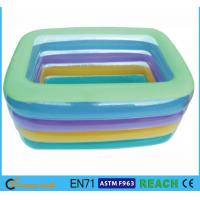 Eco Friendly PVC OEM&ODM Square Swimming Pools,Crystal Blue Inflatable Baby Pool