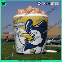 Wholesale Oxford Cloth Outdoor Giant Inflatable Cup Model With Print For Chicken Promotional from china suppliers