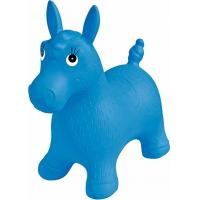 Wholesale Blue Inflatable Jumping Horse Ride on PVC Bouncing Animal Toys For Kids from china suppliers