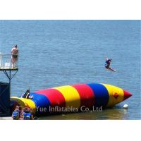 Buy cheap Colorful 0.6mm PVC Tarpaulin Inflatable Water Activities Blob Water Sports For from wholesalers