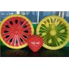 Buy cheap inflatable watermelon mattress / inflatable round mattress / inflatable water from wholesalers