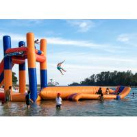 Wholesale Giant Lake Inflatable Water Sports With 0.9mm PVC Funny Jumping Pillow Tower from china suppliers