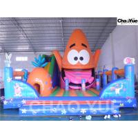Wholesale Colorful Spongebob squarepants inflatable playground(CYFC-06) from china suppliers