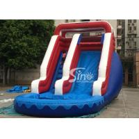 Wholesale Verruckt Commercial Inflatable Water Slides Games with 1st Class PVC Tarpaulin from china suppliers