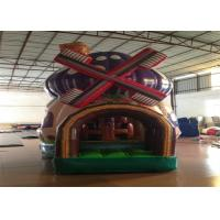Commercial Inflatable Bouncer 3 X 4 X 5m , Silk Printing Minnie Mouse Bounce House Inflatable mushroon bouncy castle
