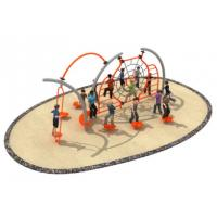 600*350*250cm Rope Play Structures Outdoor Playground Middle Size For Grass Land TQ-TN503