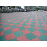 Wholesale Primary Schools Playground Safety Surface Rubber Tiles High Density Durable Mat from china suppliers