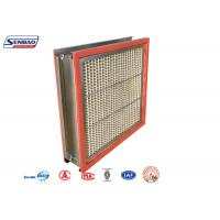Wholesale 250 Degree High Temp Resistant Industrial Air Purify Hepa Air Filters from china suppliers