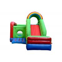 China Waterproof Kids Inflatable Jumping Castle , Childrens Bouncy Castle With Slide on sale
