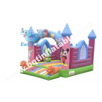 Buy cheap Inflatable cartoon bouncer,inflatable colour bouncer,mini bouncy house from wholesalers