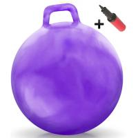 Wholesale Kids Inflatable Toy Bouncing Fitness Gym Jump Hopper Bouncy Ball With Handle from china suppliers