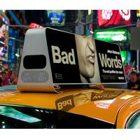 Wholesale P5 Outdoor Taxi Top LED Display Advertising Moving With Wide Viewing Angle from china suppliers