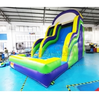 Wholesale Multi Color 1000D Bounce House Inflatable Water Slide With Pool from china suppliers