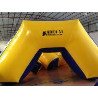 Wholesale Outdoor Games Inflatable Paintball Bunkers 0.9mm Pvc Tarpaulin 5 X 2.5 X 1.25m from china suppliers