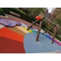 Wholesale Abrasion Absorption Playground Rubber Flooring Rich Color Wear Resistant from china suppliers
