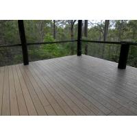 Wholesale Dimensional Stability Plastic Decking Boards , Recyclable Wood Plastic Composite Decking from china suppliers