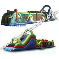 Wholesale Inflatable colourful obstacle course,inflatable standard obstacle course from china suppliers