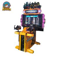 China Exciting Coin Pushed Shooting Game Machine Multiplay Simple Operation on sale