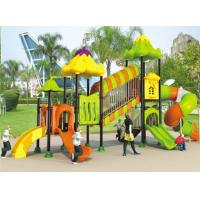 Wholesale High qulity Galvanized steel pipe kids outdoor playground equipment plastic slide from china suppliers