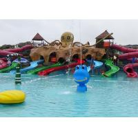 Wholesale 8 Lines Kid Water Slides octopus Water Slides Water Entertainment from china suppliers