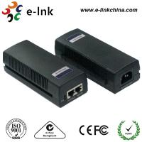 Buy cheap 48 Volt 2 Port Cisco POE Power Over Ethernet Injector 10 / 100 / 1000Mbps 15.4W from wholesalers