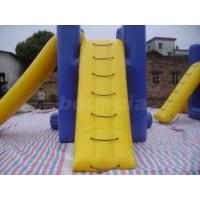 Quality TUV Certified Anti- UV 0.9mm PVC Tarpaulin Inflatable Water Jumping Pillow For for sale