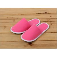 Wholesale Luxury Indoor Terry Towel Disposable Hotel Slippers For Hotels / Guests Customized from china suppliers